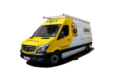 Mega Van XL avec galerie de toit