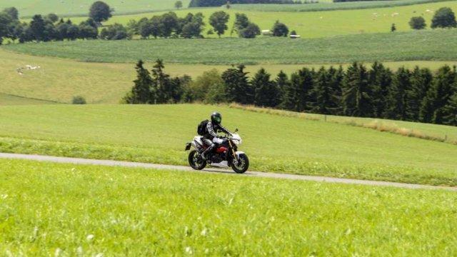 Itinéraire à moto dans les cantons de l'Est