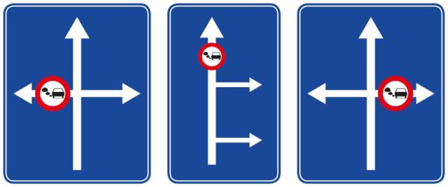 Traffic sign LEZ
