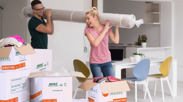 Move house with Dockx moving boxes and moving materials