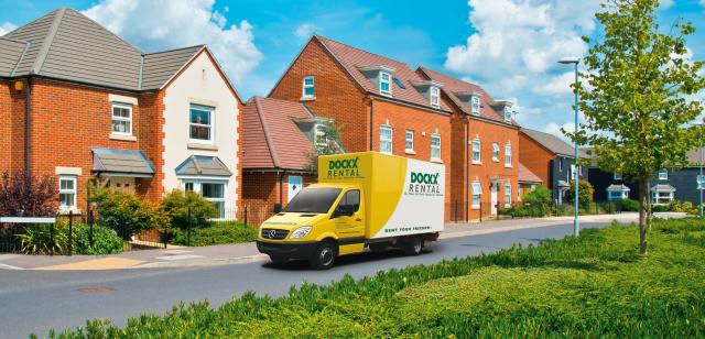 Dockx Rental verhuiswagen