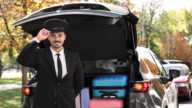 Rent a vehicle with driver